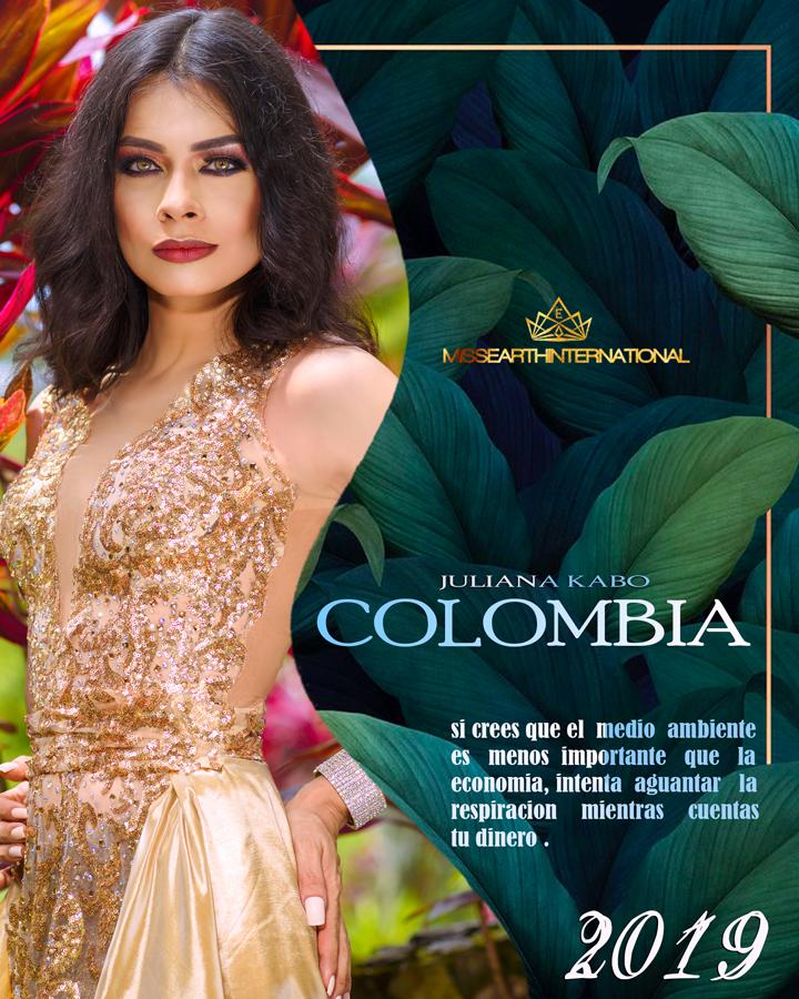 Juliana Kabo, Colombia